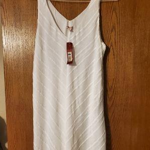 White Merona dress